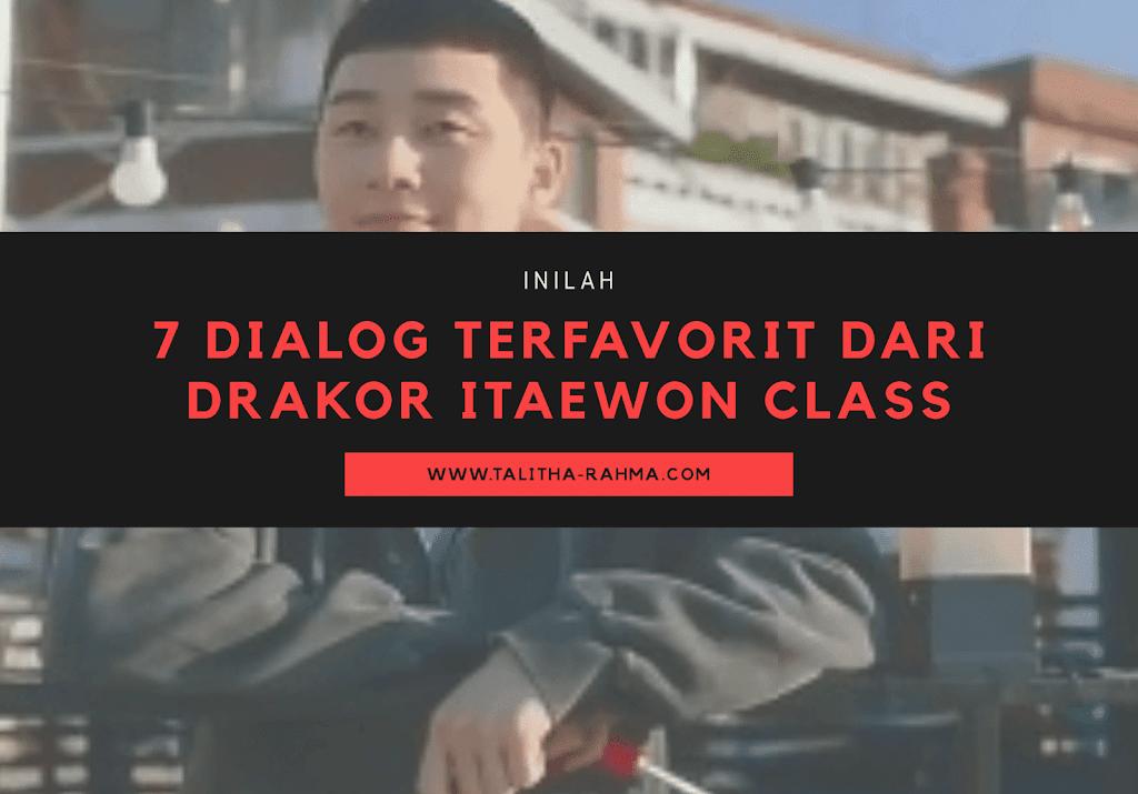 7 Dialog Terfavorit dari Drakor Itaewon Class