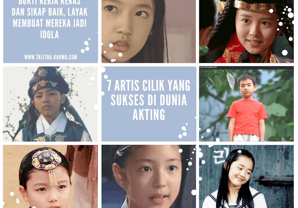7 Artis Cilik yang Sukses di Dunia Akting karena Kerja Keras dan Sikap Baik