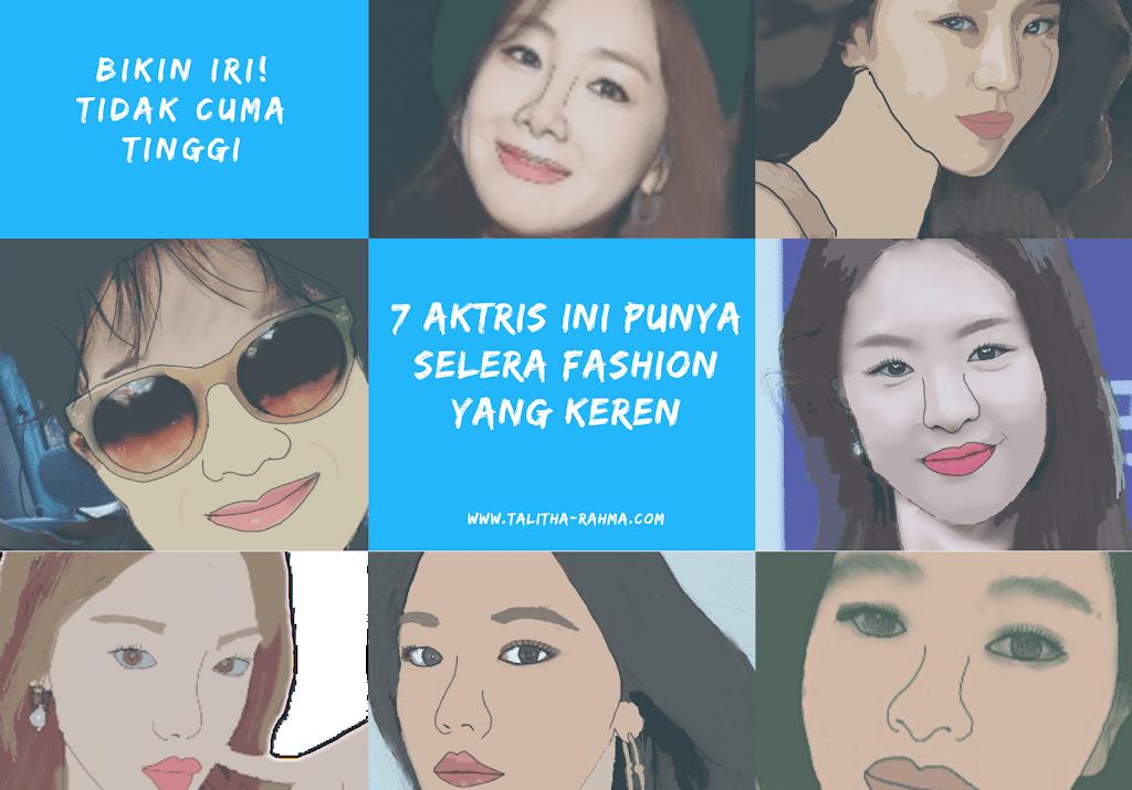 Bikin Iri! Tidak Cuma Tinggi, 7 Aktris Ini Punya Selera Fashion yang Keren