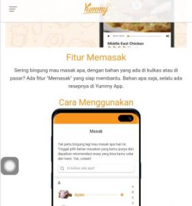 yummy app website