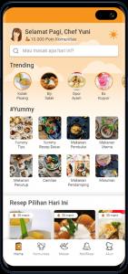 yummy app home