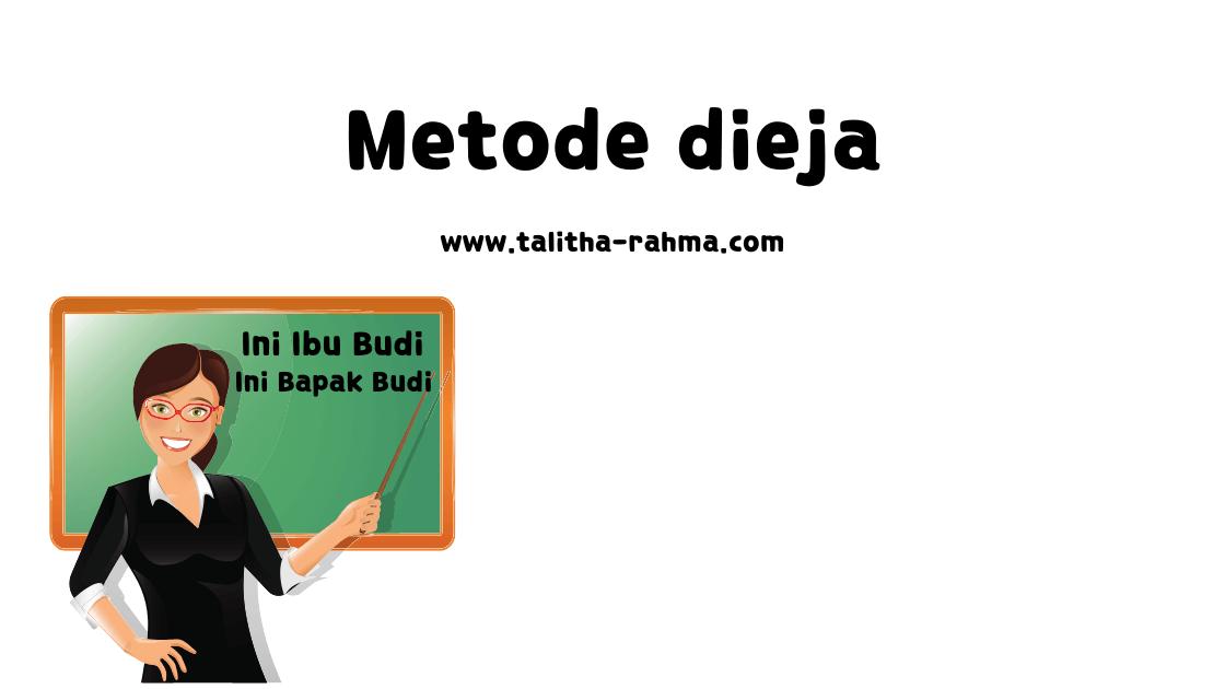5 Metode BelajarMembaca yang Sering dipakai di Indonesia