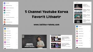 channel youtube korea