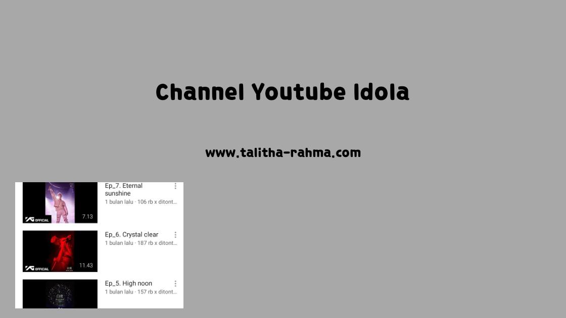 5 Channel Youtube Korea yang Selalu Lithaetr Tunggu Updatenya
