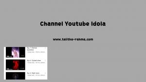 channel youtube Korea idola
