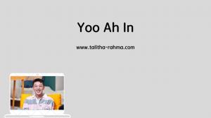 aktor favorit yoo ah in